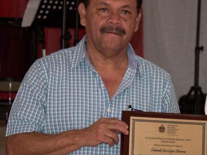 Fallece destacado maestro de Estelí