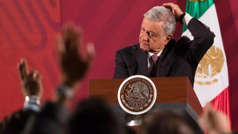 López Obrador quiere la caridad del imperialismo Por Juventino Navarrete