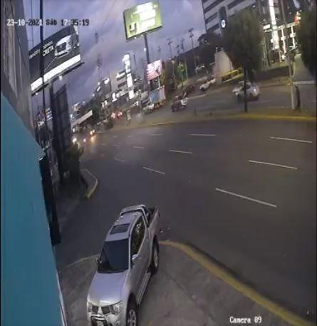 Hombre que paseaba a su perro muere atropellado en Managua