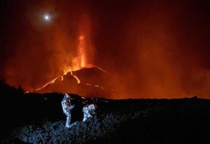 Reportan 79 terremotos en volcán en La Palma, España