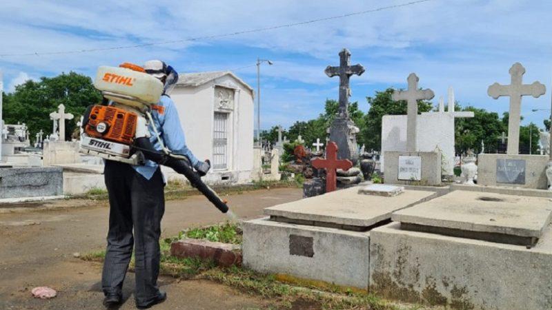 Ejecutarán plan de prevención sanitario en cementerios Managua. Radio La Primerísima