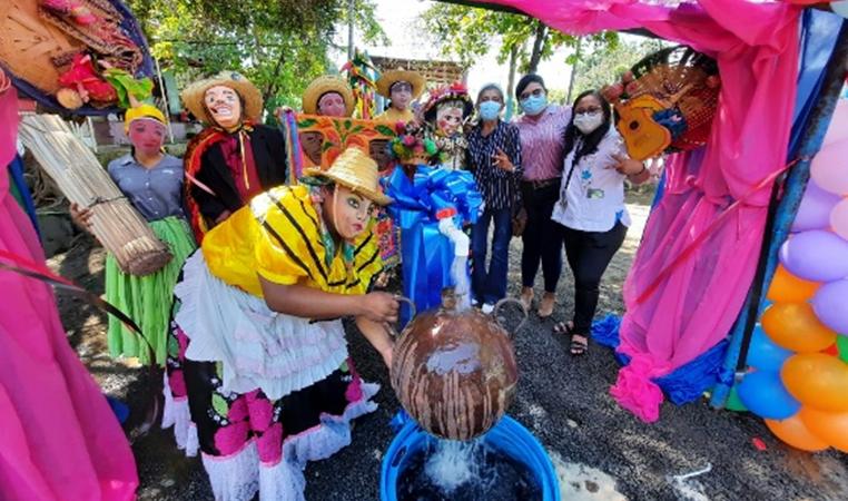 Instalan en Monimbó nuevo sistema de agua para todo Masaya Managua. Radio La Primerísima