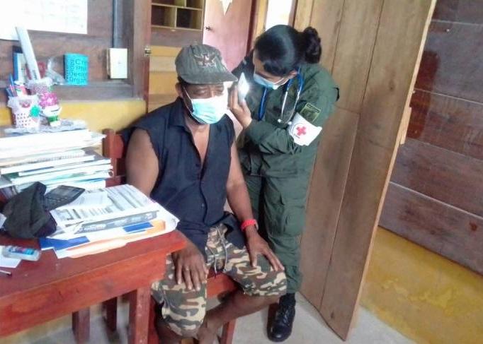 Médicos del Ejército brindan atención en Caribe Sur Managua. Radio La Primerísima