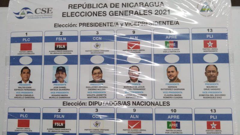 Ya están listas boletas para las elecciones Managua. Por Danielka Ruíz/Radio La Primerísima