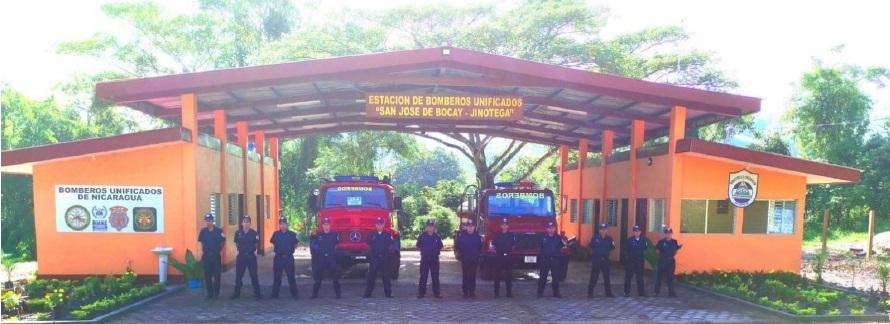 San José de Bocay ya cuenta con cuartel de bomberos Managua. Radio La Primerísima