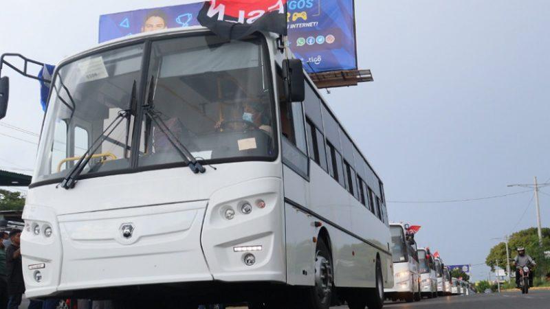 Buseros se comprometen a tratar mejor a los usuarios Managua. Por Libeth González/Radio La Primerísima