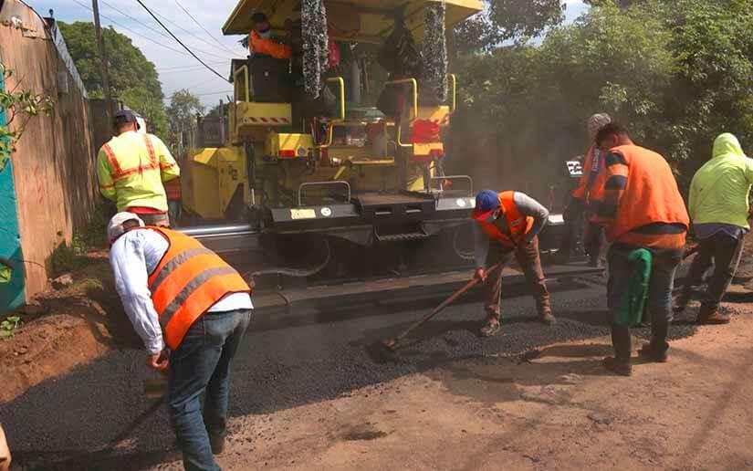 Programa Calles para el Pueblo lleva 73% de avance Managua. Radio La Primerísima