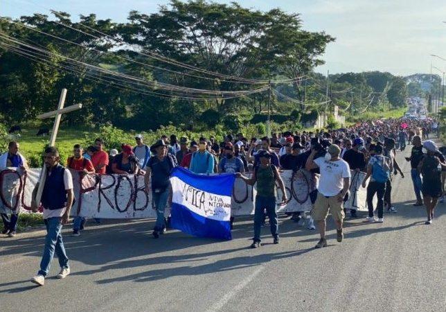 Miles de migrantes inician caminata rumbo a México Tapachula, Chiapas, México. Agencias