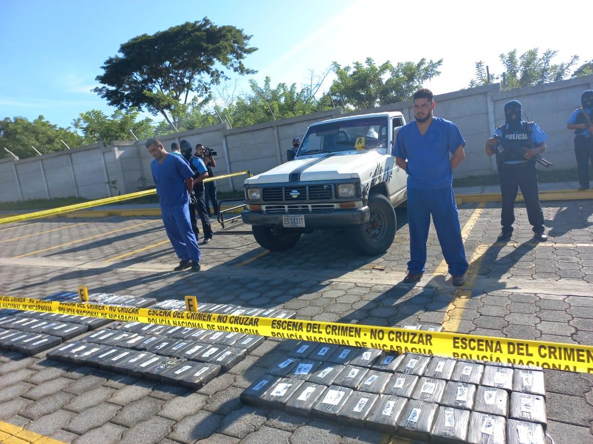 Incautan 170 kilos de droga en Madriz Managua. Por Jerson Dumas/Radio La Primerísima