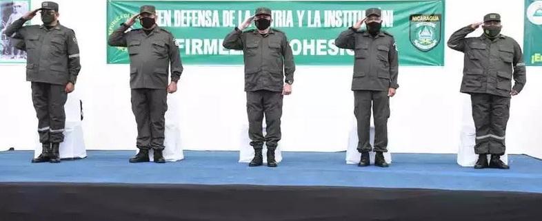 Nombran nuevo jefe de Unidad Humanitaria de Rescate del Ejército Managua. Radio La Primerísima