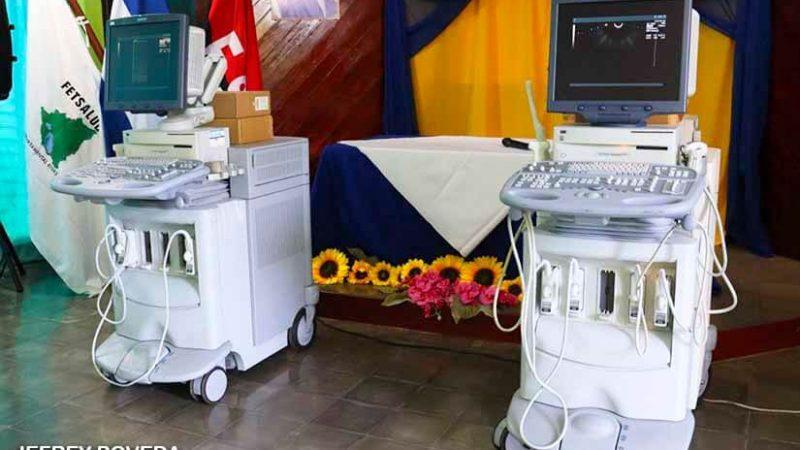 Hospital Gaspar García Laviana con nuevos equipos de ultrasonidos Managua. Radio La Primerísima