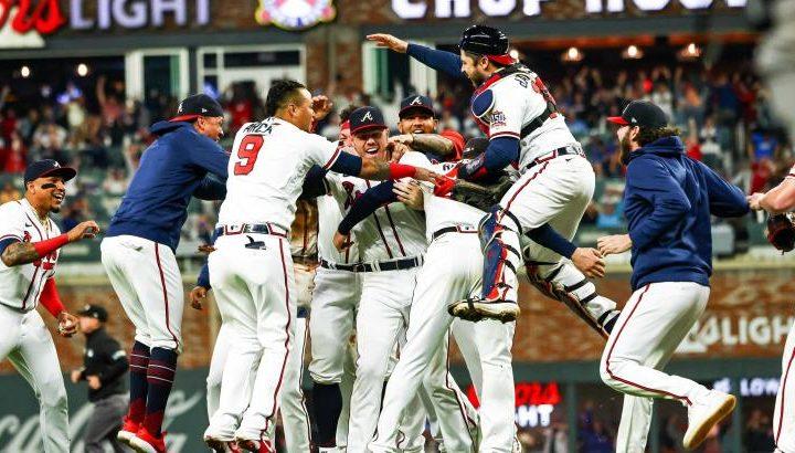 Bravos de Atlanta clasifican a la Serie Mundial