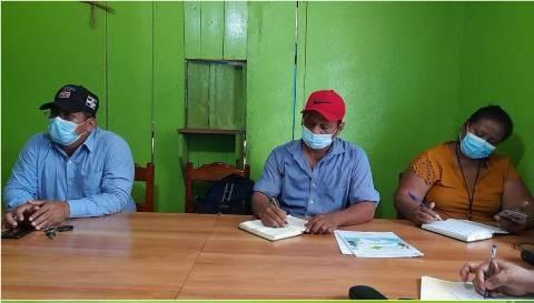 Colonos se retiran de tierras de indígenas en Bonanza Managua. CSJ