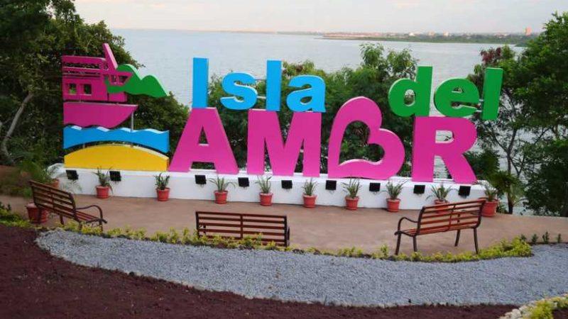 Inauguran la primera etapa de la Isla del Amor Managua. Radio La Primerísima