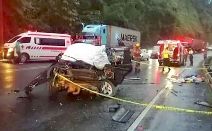 Nica fallece en accidente en Costa Rica Pococí. Diario Extra
