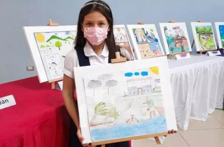 Premian a ganadores de certamen de pintura Managua. Radio La Primerísima