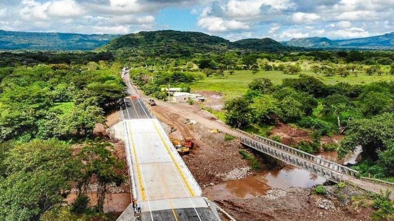 Finaliza construcción del puente Cuisalá en Chontales Managua. Radio La Primerísima