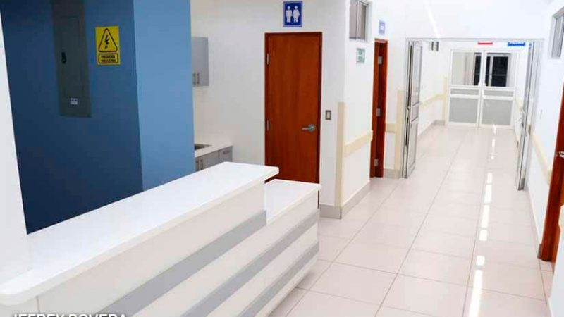 Rehabilitan sala del servicio de Nefrología en el Gaspar García Laviana Managua. Radio La Primerísima