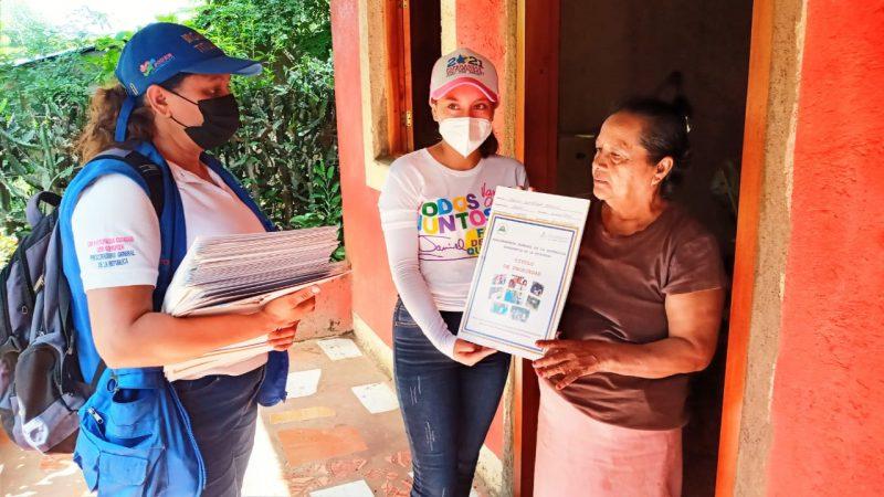 Sigue entrega de títulos de propiedad en Carazo Managua. Radio La Primerísima